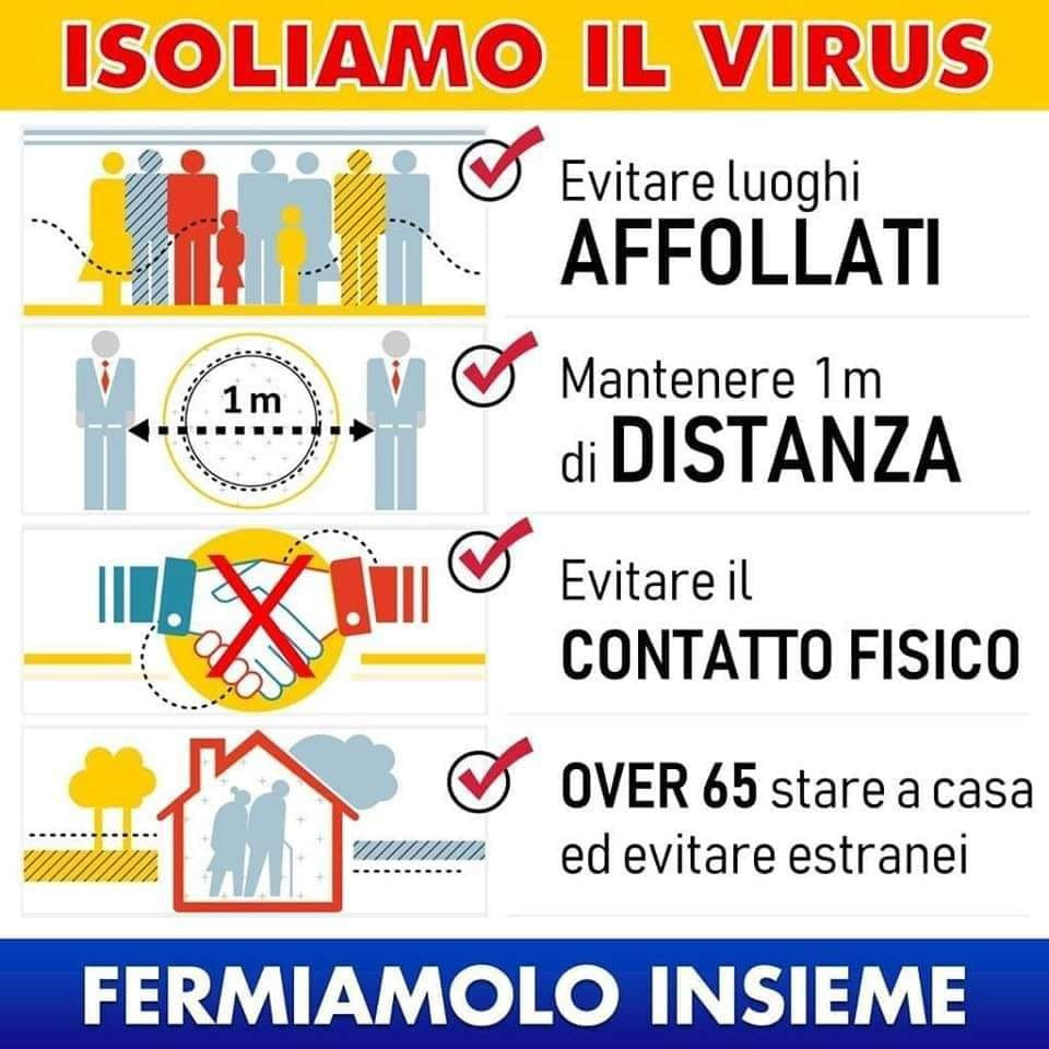 Isoliamo il virus