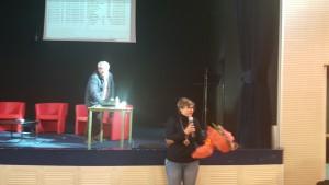 Omaggio floreale prof.ssa Napoli - Funz. strum. Area 3