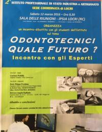 Odontotecnici quale futuro - Sede Locri - 2016